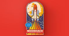 Moonhack 2016 | Logo Design | The Design Inspiration