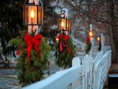 # Winter & Christmas Home Decor Elegant Christmas, Merry Little Christmas, Christmas Love, Country Christmas, Outdoor Christmas, All Things Christmas, Beautiful Christmas, Winter Christmas, Christmas Music