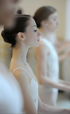 Young dancers of the Paris Opera Ballet.