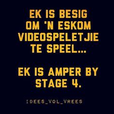 Eskom Funny Images, Funny Pictures, Funny Pics, Afrikaans Quotes, Laugh At Yourself, Minions Quotes, Set You Free, Laughter, Funny Jokes