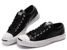 Sepatu Converse Model Terbaru Jack Purcell Hitam Kulit cd3d9f30a