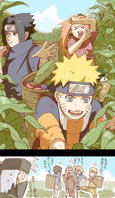 Tags: Anime, NARUTO, Haruno Sakura, Uzumaki Naruto, Uchiha Sasuke, Humor, Hatake Kakashi