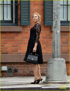 Scarlett Johansson & Matthew McConaughey: Dolce NYC Ad Shoot! | scarlett johansson matthew mcconaughey dolce gabbana nyc ad shoot 01 - Photo
