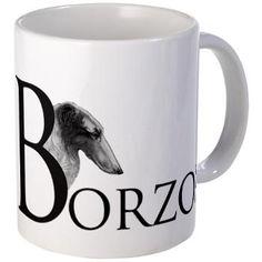 Borzoi Mug - Mugs, My Favorite Things, Gifts, Presents, Tumbler, Favors, Mug, Gift, Cups
