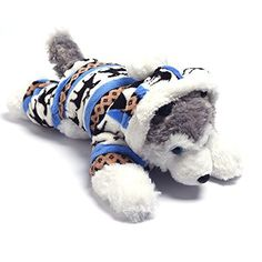 Wayson Pet Dog Costume Jumpsuit Coat Clothes Hoodie Coat Autumn Winter Warm Coral Fleece Pajamas Coat SizeM *** This is an Amazon Affiliate link. Find out more about the great product at the image link.