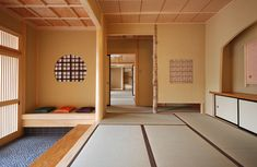Japanese home hall