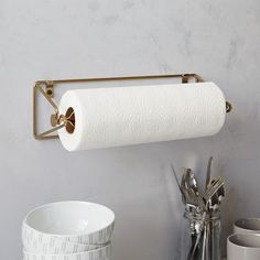 wire kitchen paper towel holder