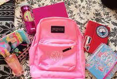 Only way I'll go back to school is with cute supplies. Homeschooled or not!:) #prep #fun #backtoschool