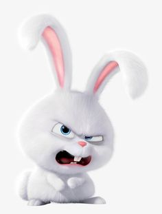 You wanna mess with me? Disney Phone Wallpaper, Wallpaper Iphone Cute, Disney Castle Drawing, Snowball Rabbit, Cute Bunny Cartoon, Secret Life Of Pets, Cute Cartoon Wallpapers, Cute Gif, Disney Cartoons