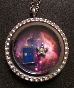 If I ever get an Origami Owl, you better believe it will have a TARDIS in it!