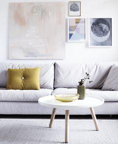 No sofa Living Room Design Unique Quick Decor Fix 4 Ways to Decorate Around A sofa You Don T Love No Scandi Living, My Living Room, Home And Living, Living Spaces, Scandinavian Living, Modern Living, Living Area, Living Room Inspiration, Interior Inspiration
