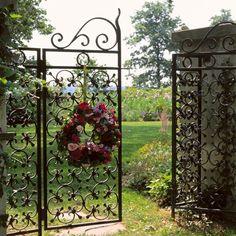 Beautiful garden gate by Eva0707