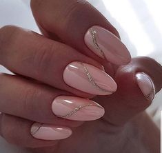 really cute nails Chic Nails, Classy Nails, Fancy Nails, Trendy Nails, Soft Nails, Neutral Nails, Pink Nails, Hair And Nails, My Nails