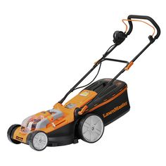 Cordless Electric Lawn Mower, 40V Max Lithium-Ion, 16 Inch.