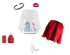 """""""@FlowerfedeStyle"""" by federica-camilla-guerrera on Polyvore featuring MM6 Maison Margiela, Givenchy, Zimmermann and Moschino"""
