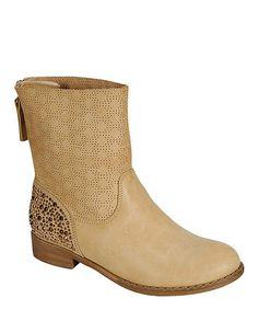 Love this Camel Samantha Rhinestone Zipper Boot on #zulily! #zulilyfinds