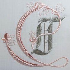 Fleur de Lis Alphabet- T