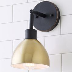 Young House Love Dapper Sconce