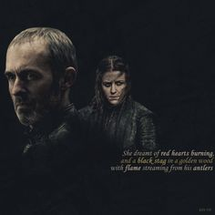 "pure-iron: "" Stannis Month - Quotes + Shippy relationship - Stannis x Asha """