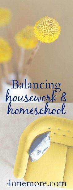 Balancing Housework & Homeschool | Finding Solutions that Work