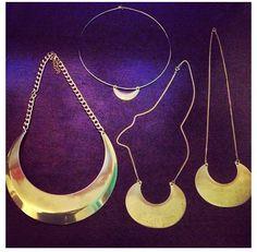 Banjo and bone necklaces