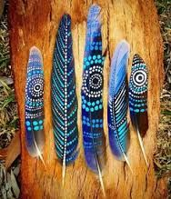 Image result for aboriginal painted feathers canada