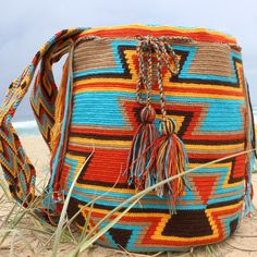 Rayita - Mobolso Wayuu Mochila (love this design)