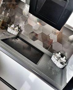 Ankastre, Beyaz mutfak, Modern mutfak, Mutfak, Tezgah arası seramik