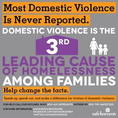 #WhyIStayed Because #domesticviolence is the 3rd leading cause of #homelessness. pic.twitter.com/kxTySlBQE0