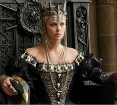 Snow White and the Huntsman, Charlize Theron #DeFeoTheme #FlowerShop