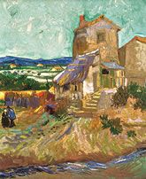 Vincent van Gogh, La Maison de la Crau (The Old Mill), 1888 (detail). Collection Albright-Knox Art Gallery, Buffalo, New York. Bequest of A. Conger Goodyear, 1966.