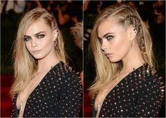 """A lateral do cabelo trançada destaca o rosto e cria um efeito moderno.  (Mais em """"21 penteados com tranças"""")"""