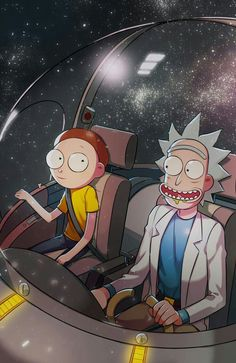 Rick and Morty!!!