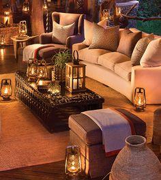 Lounge at Lelapa Lodge