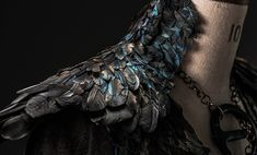 Detail - Sansa Stark's new Black Dress - Game of Thrones
