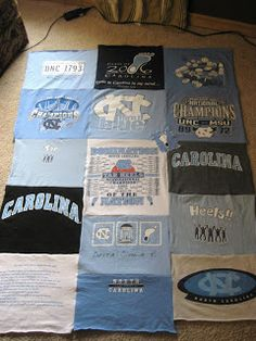 making it and working it.: T-shirt Blanket Tutorial: Sewing Stage.
