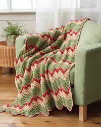 Zig Zag Crochet Afghan