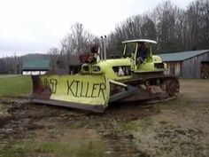 1956 Euclid TC12 bulldozer crawler with twin 6-71 Detroit Diesel 2-cycle...