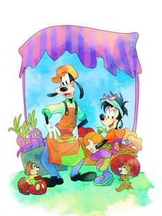 mickey mouse y Epic Mickey, Goofy Disney, Disney Cartoon Characters, Mickey Mouse Cartoon, Mickey Mouse And Friends, Disney Films, Disney Fan Art, Disney Cartoons, Disney Love