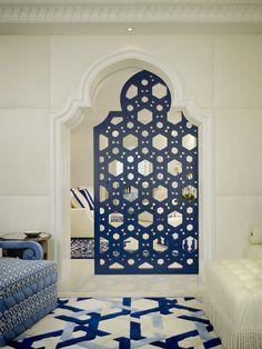 Geoffrey Bradfield Moroccan inspired interior design