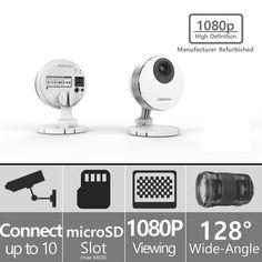 SNH-P6410BMR - Samsung SmartCam HD Pro 1080p Full HD Wifi IP Camera (Refurbished)