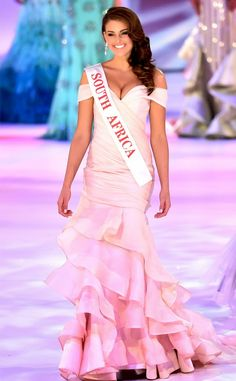 Let's Discuss Miss World's Pretty Pink Princess Gown. Miss World 2014, Pretty Pink Princess, Megan Young, Miss Mundo, Miss Univers, Pageant Gowns, Western Dresses, Beauty Pageant, African Hairstyles