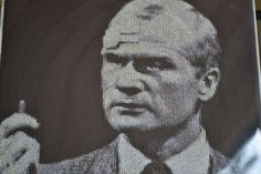 Dark Shadows Cross Stitch Portrait-Roger Collins by JLCampbell