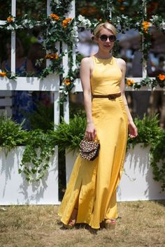 Emma Roberts at the Veuve Cliquot Polo Classic