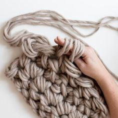Learn how to hand crochet and a whole knew world of extreme and chunky fiber projects will open up before you. You are going to LOVE this craft! Find out more at LoveCrochet.Com.