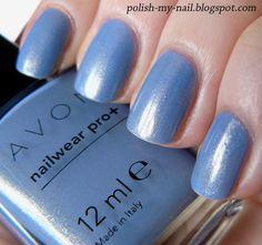 Avon - Blue Water Lilies nail polish