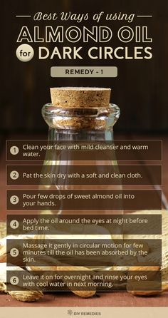 Best-Ways-of-using-Almond-Oil-for-Dark-Circles