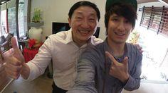Julien Bam celebrates CNY with family [German language study]