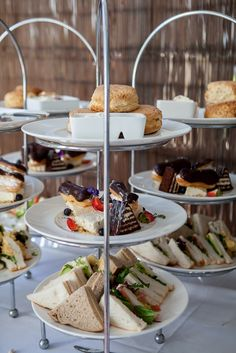 High tea at Vie Spa, something special for the ladies