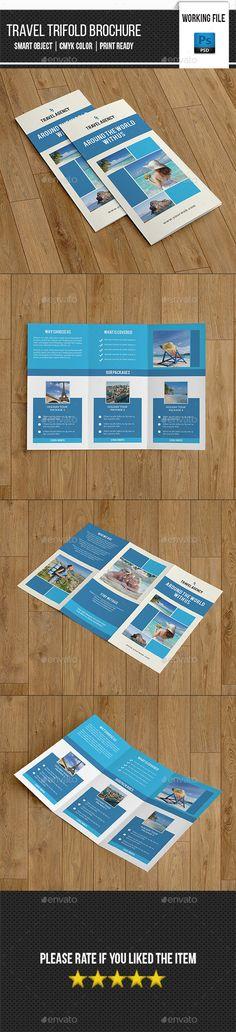 Travel Agency Trifold Template PSD #design Download: http://graphicriver.net/item/travel-agency-trifold-templatev266/13456909?ref=ksioks